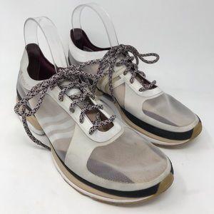 Stella McCartney Adidas White Mesh Sneakers